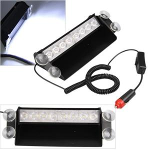 China 8Watt LED Vehicle Work With Remote Control & Car Cigarette Lighter / LED Emergency Strobe Lights on sale
