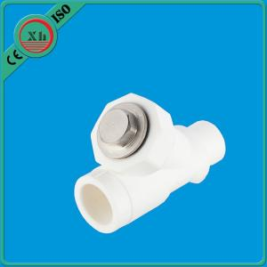 China PPR Y Type Filter VALVE Fusion Welding High Flow Speed XHV401-XHV502 Easy To Use on sale