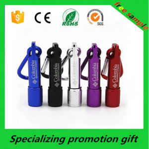 China Electronic Promotional Products Mini Keychain Led Flashlight / Torch on sale
