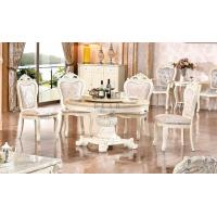 China Latest dining table designs marble dining table prices on sale