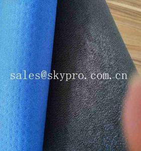 China Surface Processing Neoprene Fabrics Perforated Circular Diamond Elliptical Hole on sale