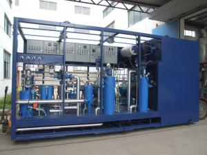 China FOHS Oil Separator Unit Fuel Filtration Systems Environmentally Friendly on sale