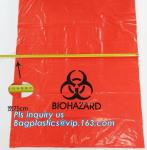8-10 Gallon Medical Waste Trash Bags Compostable Biohazard Waste Bags Infectious Waste Basure Infecciosa Bags, bagplasti
