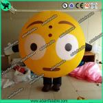 Oxford Inflatable Balloon Costume Moving QQ Cartoon Inflatable Customized