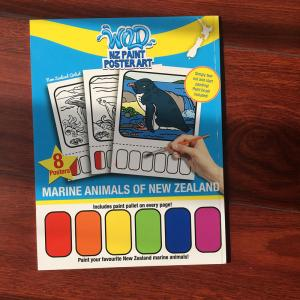 quality magic coloring book with water water coloring paint book actiivity water coloring book - Paint With Water Coloring Books