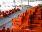 High Strength Alloy Ditch Cleaning Bucket , Construction Machinery Bucket