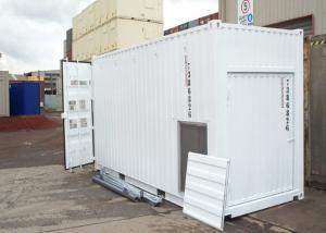 China White Build ISO Modified Insulated Shipping Container Home Construction on sale