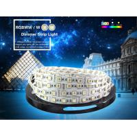 China 4 in 1 RGBW LED Strip 5050 DC12V Flexible LED Light RGB+White / RGB+Warm White 4 color in 1 LED Chip 60 LED/m 5m/lot on sale