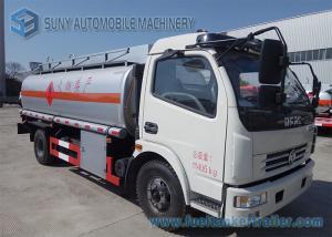 China Oil Tanker Truck / Liquid Nitrogen Tanker Truck With Air Braking System on sale