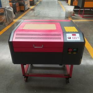 China 50W Laser engraver machine 400*400mm 440 with up and down table and air blower for DIY gift or crafts on sale