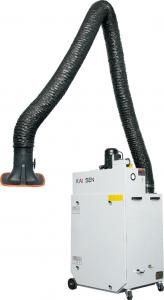 China 220V/50Hz Welding Fume Extraction Units With Fume Exhaust Hose , OEM/ODM Service on sale