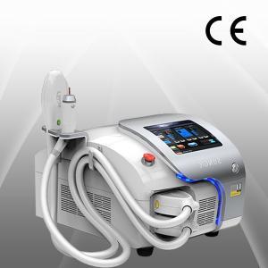 China 220V / 110v intenso luz pulsada elimina acné, disipar pecas, máquina de eliminación de pelo de IPL on sale