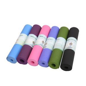 China W61cm T4mm Yoga Exercise Equipment Eco Friendly Tpe Yoga Mat on sale