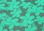 Tissu vert qui respecte l'environnement de dentelle de polyester avec la largeur CY-CT8556 de 150cm
