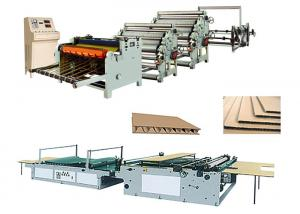 China Single Face Carton Corrugated Box Manufacturing Machine Low Electric Consumption on sale
