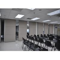 Plywood Meeting Room Hanging Sliding Door Banquet Hall Partition Wall