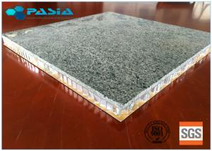 China Granite Stone Aluminium Honeycomb Panel With Edge Open For Indoor Decoration on sale
