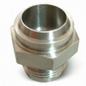 China Micro Machining CNC parts on a lathe with milling function.MIM hign quality metal injection molding arts on sale