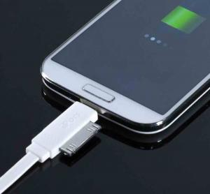 China TPE Noodle IPhone USB Cellphone Charger Cable / USB Data Cable For Iphone 4 on sale