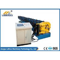 17.5kW Gutter Downspout Machine Hydraulic Cutting 10-12m/min Production Speed