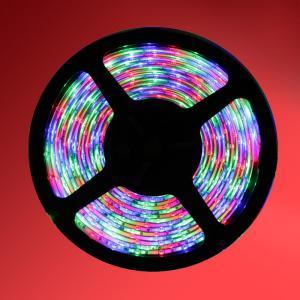 China RGB SMD 3528 5M 300 LEDs LED RGB Strip None-Waterproof Flexible LED Strip Rope light on sale
