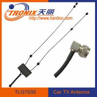 China double incept wires car tv antenna with signal magnify on sale