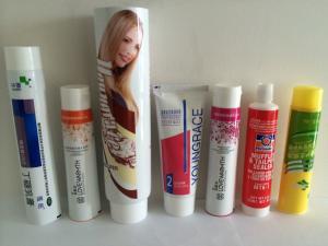 China 化粧品の包装アルミニウム プラスチックは毛色のための管、手のクリーム、スキン ケア、化粧品を薄板にしました on sale
