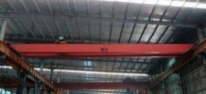 China OEM Double Girder Bridge Overhead Cranes with Hydraulic Brake on sale