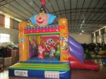 Funny Painting Kids Inflatable Bounce House Commercial Inflatable Clown Themed Combo Bouncer