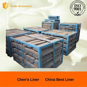 Quality High Mn Steel Cast Mill Lining System JIS G 5153-1999 / ASTM DF060 Impact Value for sale