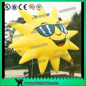 China Historieta inflable modificada para requisitos particulares de la reproducción de Sun para las gafas de sol que hacen publicidad on sale