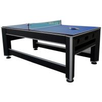 Professional 7 FT 3 In One Game Table , Flip Air Hockey Ping Pong Table