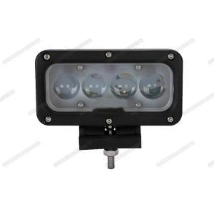 China 40w 4D Lens LED Spot Work Light , 6000K Jeep Boat SUV LED Vehicle Work Light on sale