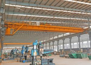 China Removable 10 Ton Double Girder Overhead Crane Electrical Lifting Trolley on sale