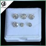 Wholesale GH White Color 1 CT Round Moissanite Diamond
