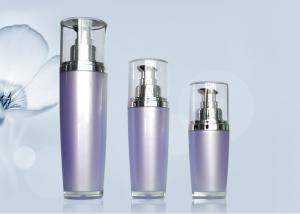 China Pearl Spaying Plastic Lotion Pump Bottles Airless Spray Bottle Tight Sealing on sale