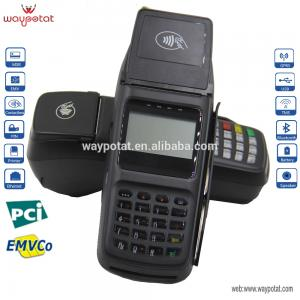 China Low Cost Handheld POS Terminal Integrated On-counter/Portable POS Terminal with Printer on sale