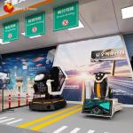 Educational Equipment Traffic Safety Car Vr Motion Platform Simulator Experience