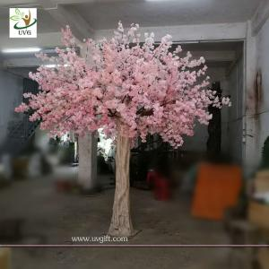 China UVG 10 foot pink cherry blossom decorative artificial trees for church wedding decorations CHR170 on sale