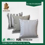 Домашний крытый декоративный современный валик подушки хода софы Линен холста покрывает 43кс43км
