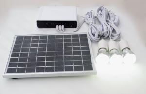 China Portable Solar Powered Led Kit Solar Lighting Kit Camping Customized Size on sale