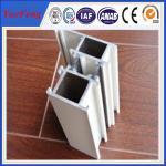 China Silver anodized aluminium profiles fabricate windows&doors wholesale