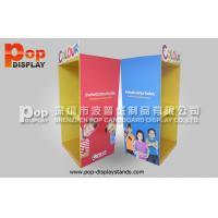 Baby Car Seat Cardboard Floor Display Stands / Carboard Display