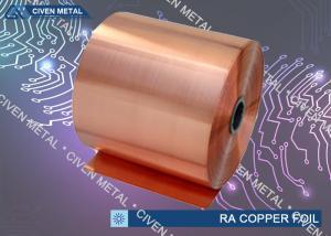 China C11000  RA COPPER FOIL  / DEAD SOFT Min 99.99% CU on sale