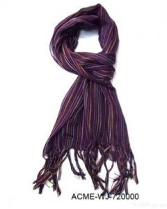 China Fashion 100% Polyester Scarf on sale