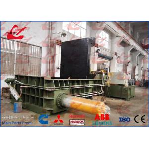 China HMS 1&2 Metal Scrap Baler Car Bodies Vehicles Baling Press Hydraulic Steel Compactor 4500-5000kg/h on sale