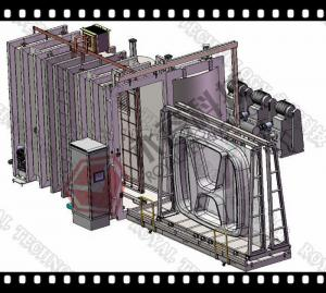 China Logos And Signs Vacuum Metalizing Machine ,  Vacuum Plating Equipment on sale
