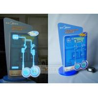 El poster, EL adverstisement, in-Store, Retail Store, P.O.S., P.O.P Customized Display Props for water Dispenser