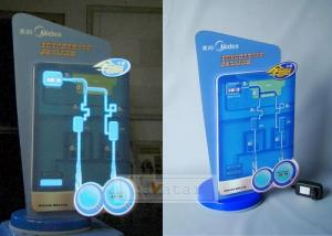 China El poster, EL adverstisement, in-Store, Retail Store, P.O.S., P.O.P Customized Display Props for water Dispenser on sale