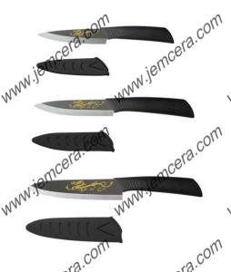 China Draw Dragon Picture on Blade and ABS Straight Handle (A09 Series Handle) on sale